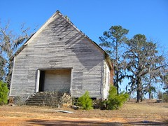 Abandoned Church (smenjas) Tags: blue sky country dilapidation