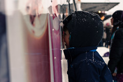 exploring senses (jonathan.paar) Tags: winter canada cold colour ice canon nose 50mm kid ottawa 14 skating winterlude 2014