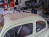 VW Käfer Faltdach vorher