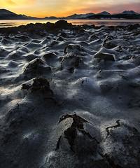 (Thorbjrn Riise Haagensen) Tags: ice is shoreline shore fjre troms fjra