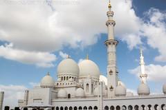 White Mosque Abu Dhabi (FabioCasadei) Tags: uae abu dhabi uniti arabi emirati