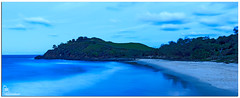 Cabarita Beach Lookout (Brett Huch Photography) Tags: ocean sea sky seascape nature water night surf seascapes australia nsw aussie cabarita