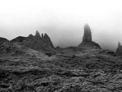 Old Man of Storr (threejumps) Tags: cloud mist skye misty scotland rocks isleofskye pillar geology oldmanofstorr storr