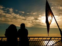 Sailing North (Explore #207 5/4/14) (GillWilson) Tags: norway sailing hurtigruten