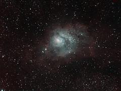 Lagoon Nebula Narrowband - 4/10/14 (astr0pics) Tags: astrophotography orion astronomy meade lx200 sbig st2000 astrometrydotnet:status=solved astrometrydotnet:id=nova269386