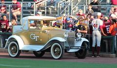 college yellow georgia university tech state baseball florida stadium fsu seminoles gt ncaa chandler russ jackets