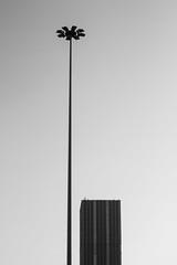 tower and pillar (daydreamCry) Tags: white black tower monochrome pillar minimal