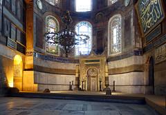 Mihrab, Hagia Sophia