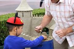Sand Sculptor Disneyland 2014 Summer Kickoff