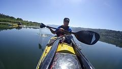 Morning paddle (Kayaker Bill) Tags: columbiariver kayaking seakayak washingtonstate paddling columbiarivergorge calmwater sonyas100v reedislandwashington