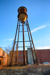 rusty tower (Mycophagia) Tags: tower abandoned mystery explosion rusty urbanexploration urbex mysteriousexplosion