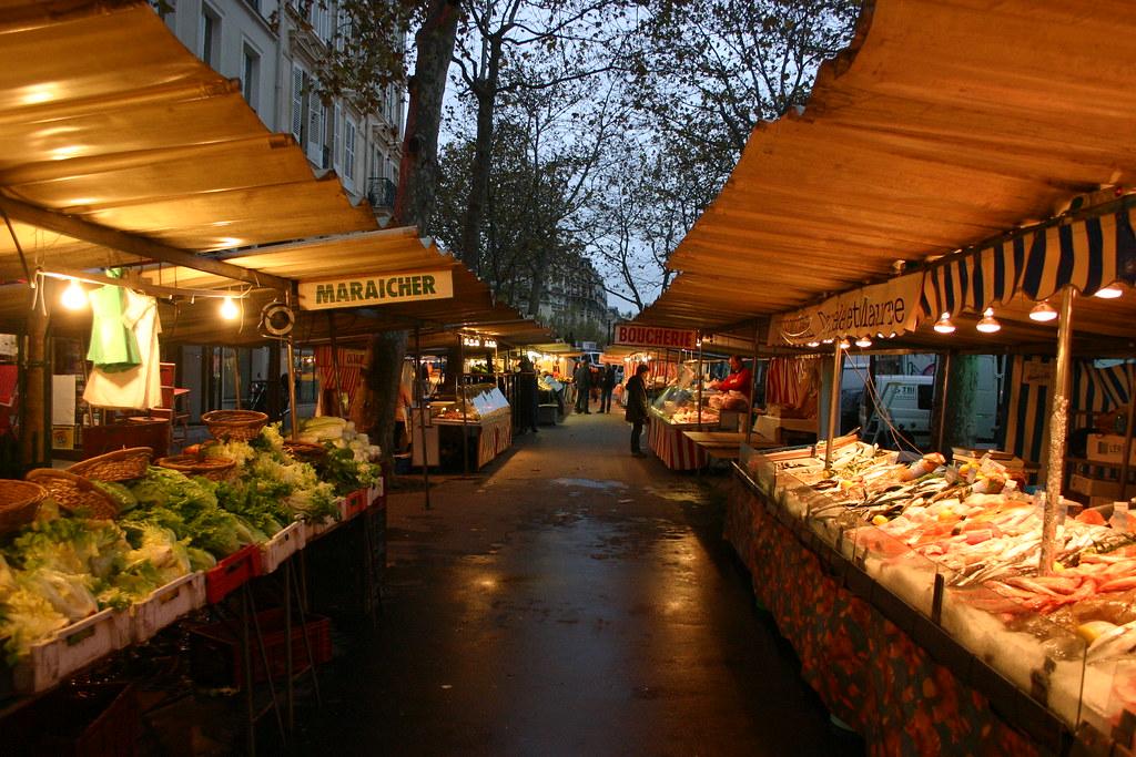 Le Marché Raspail, Paris