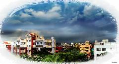 Kolkata in Monsoon (iJoydeep) Tags: city cloud india storm west rain sony joy monsoon kolkata bengal ijoydeep