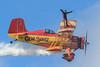 Wingwalking (Norman Graf) Tags: show cat plane airplane circus aircraft smoke air airshow yuma wingwalking grumman showcat agcat n7699 g164 nx7699 genesoucyandteresastokes 2015yumaairshow yumaaircircus