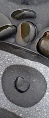 drying pebble (adrian-smith) Tags: closeupcoast shoreline sandymouth squall beach littoral cornwall coast