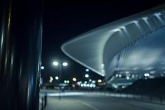 L'incertitude du futur... / Future's uncertainty (Gilderic Photography) Tags: guillemins liege belgique belgium belgie night nuit future station architecture blur flou lights lumieres canon g7x gilderic