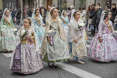 Valencia (anna_koskela) Tags: beautiful tourism singleflower artist celebration ornate virginmary craft statue figurine traditionalclothing child falling fun beauty fantasy spanishculture traveldestinations vacations urbanscene humanface spain europe flower monument travelingcarnival partysocialevent event stagecostume clothing valencian march lasfallas floweroffering valencia espanja kaupunkiloma elcarmen cathedralofsantamaríadevalencia graal plazadelavirgen plaza de la reina