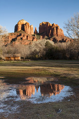 DSC_5099 (DGY 45) Tags: sedona cathedralrock reflection