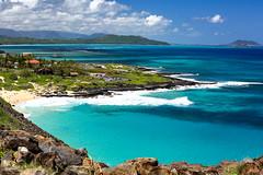 Makapu'u Beach Lookout Windward Oahu Hawaii (EricJ777) Tags: makapuubeachlookout makapuu beach scenic ocean bay island rabbitisland lookout