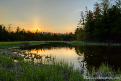 Crystal River ... sunset 5-18-13 (Ken Scott) Tags: sunset usa spring michigan may hdr preservation freshwater voted sunpillar crystalriver leelanau 45thparallel 2013 landprotection sbdnl sleepingbeardunenationallakeshore theleelanauconservancy mostbeautifulplaceinamerica