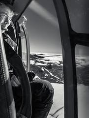 Glacier monitoring (c_c_clason) Tags: sweden glacier helicopter research sarek glaciology sareknationalpark pårteglaciären