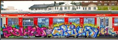 - (txmx 2) Tags: train graffiti stitch pano hamburg altona
