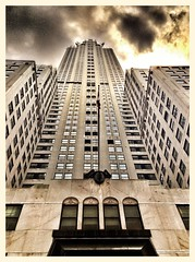 Chrysler Building (Tony L2008) Tags: nik iphone niksoftware iphone5 snapseed