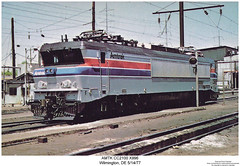 AMTK CC 21000 X996 (Robert W. Thomson) Tags: railroad electric train railway trains amtrak locomotive deleware trainengine wilmington amtk sixaxle cc21000