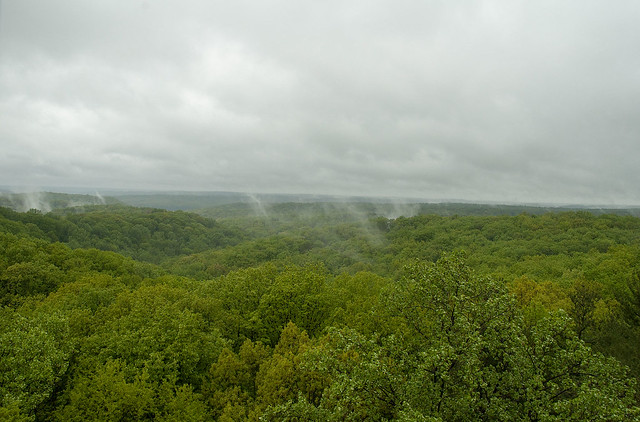 Hoosier National Forest - Hickory Ridge Fire Tower - May 2013