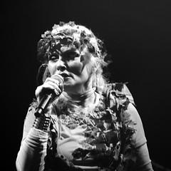 ICON: Debbie Harry (gregjack!) Tags: uk blackandwhite bw music woman kewgardens london kew concert stage icon blondie debbieharry
