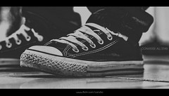 CONVERSE ALL STAR (Douglas Condzo) Tags: blackandwhite black shoes african converse brand allstar dirtyshoes chucktaylors maputo mozambican