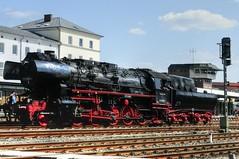passing by (the-father) Tags: station germany bavaria steam locomotive oberpfalz weiden blinkagain bestofblinkwinners blinksuperstars bestofsuperstars