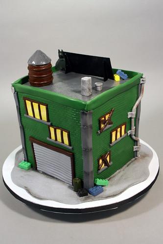 Swell Lego Batman Birthday Cake A Photo On Flickriver Personalised Birthday Cards Akebfashionlily Jamesorg
