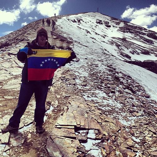 En el campamento basé del Chacaltaya #lapaz #bolivia #perubolivia2013 #mochilatrip #montañas #chacaltaya