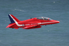 IMG_2238 - Red Arrows - Beachy Head - 18.08.13 (Colin D Lee) Tags: aircraft airshow eastbourne redarrows raf beachyhead airbourne royalairforceaerobaticteam baehawk