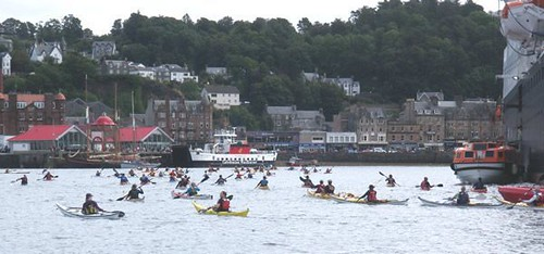2013 Oban Sea Kayak Race 5