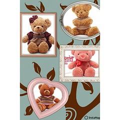 ตุ๊กตาหมีพร้อมส่ง นำเข้า โทรสั่ง083-1797221 ร้านโลตัสโนสส www.lotusnoss.com, line ID : lotusnoss #teddy bear #ตุ๊กตาหมี