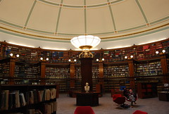 Public Library (loungerie) Tags: england public lamp architecture liverpool interior library illumination libro books libri biblioteca publiclibrary