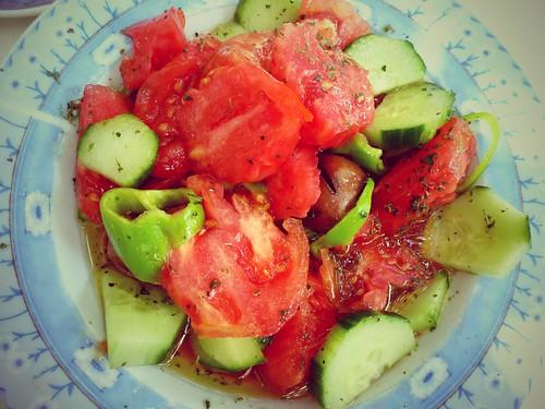 Salade grecque, Astros, Grèce