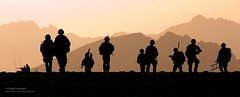 Royal Marines in Afghanistan (Defence Images) Tags: uk afghanistan silhouette photography scotland angus military free competition photographic trophy british operation defense arbroath defence peregrine personnel herrick royalnavy royalmarines nonidentifiable peregrinetrophy2009