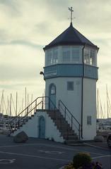 By the sea (J-Andersson) Tags: sea film analog 35mm vintage gteborg boats harbor seaside fuji sweden harbour 10 superia gothenburg olympus om10 35mmfilm fujifilm analogue om olympusom10 superia200 saltholmen