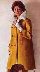 Spiegel 69 fw yellow furry (jsbuttons) Tags: winter 1969 fashion yellow clothing 60s buttons spiegel coat womens catalog sixties vintageclothing vintagefashion doublebreasted
