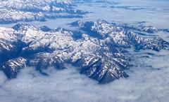 Pyrenees mountains (shadowshador) Tags: cloud mountain snow mountains cold ice clouds pyrenees