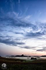 Victoria canal valley (warmianaturalnie) Tags: morning sky fog sunrise landscape poland warmia