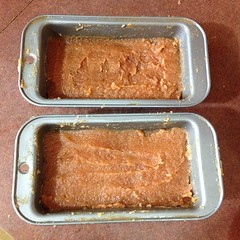 """Ready to cool in mini loaf pans. #marmelada #recipe #portugese #yum #quince • <a style=""""font-size:0.8em;"""" href=""""https://www.flickr.com/photos/61640076@N04/10580212246/"""" target=""""_blank"""">View on Flickr</a>"""