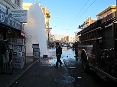 Big Fountain in Little China (JJ San) Tags: sanfrancisco fountain chinatown geyser sffd firefighter