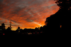 Sky on Fire (7) (tommaync) Tags: november sunset sky orange sun nature oneaday sunshine clouds nc nikon northcarolina photoaday pictureaday chathamcounty d40 project365 2013 project365306 gününeniyisithebestofday cloudsstormssunsetssunrises project365110713