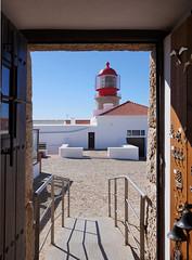 Lighthouse @ Cape St. Vincent (pixelchecker) Tags: ocean lighthouse portugal coast cabo europe vincent atlantic cape vicente sao sagres thephotographyblog