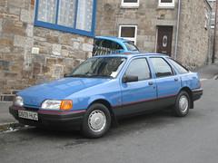1987 Ford sierra LX. (RUSTDREAMER.) Tags: ford sierra penzance bangernomics rustdreamer