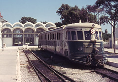 Once upon a time - Tunisia - Nabeul (railasia) Tags: station tunisia renault seventies infra nabeul terminus motorcar sncft metergauge